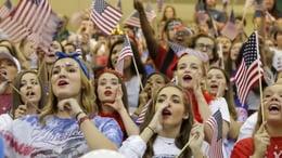Prosper proves patriotic pride