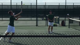 Tennis team defeats Newman Smith