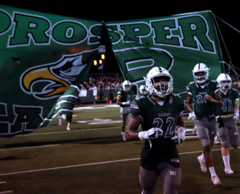 Kaleb Adams' 5 TD night fuels Prosper's victory over McKinney North, 43-17