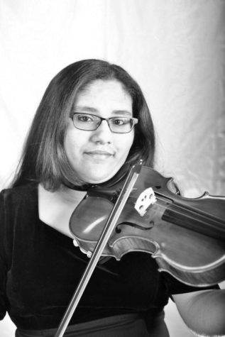 Alejandra Maldonado wins first chair in regional string orchestra