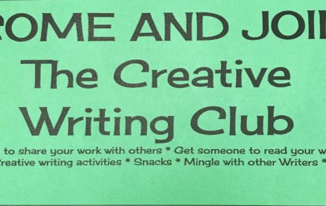 Join the Creative Writing club