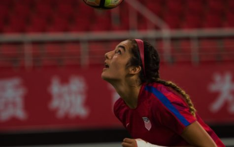 Ordonez competes with U17 Women's National team