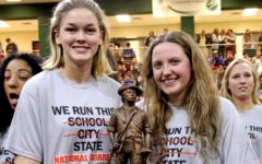 National Guard honors 5A-state-winning girls volleyball team