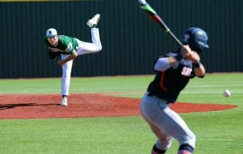 Connor Jackson pitches a win over Sachse