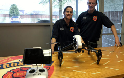 Fire department helps community with drone