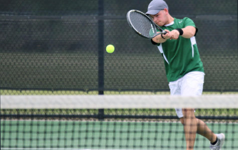 Junior Varsity tennis hits home