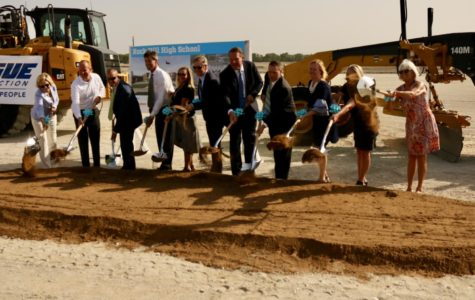 Breaking-ground ceremony for second high school