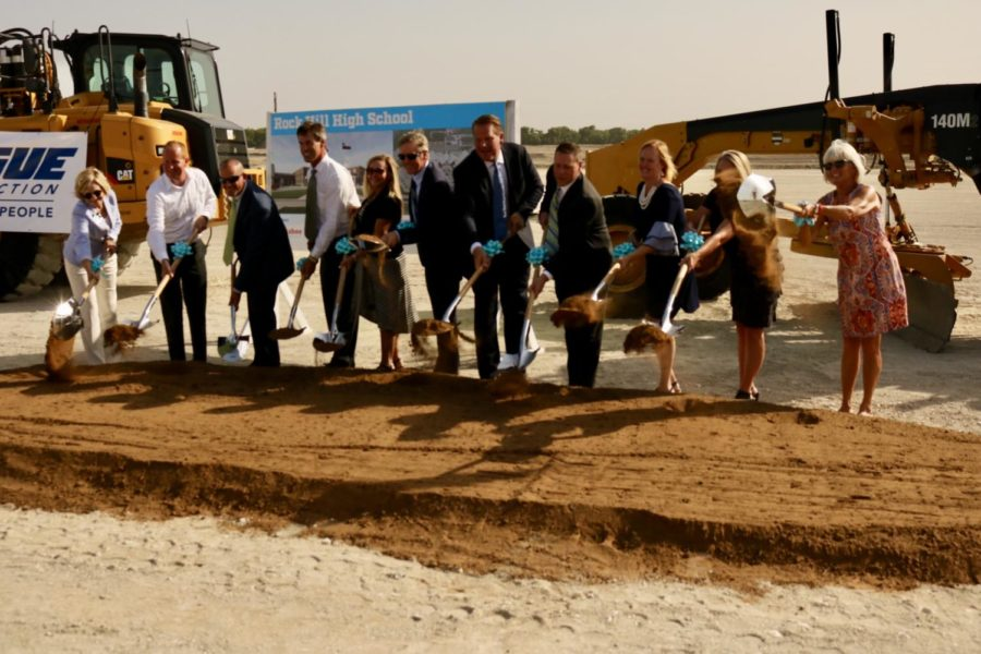 Breaking-ground+ceremony+for+second+high+school