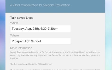 American Foundation for Suicide Prevention organizes 'Talk Saves Lives' presentation