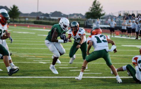 Freshman Green, Silver football teams begin season at home