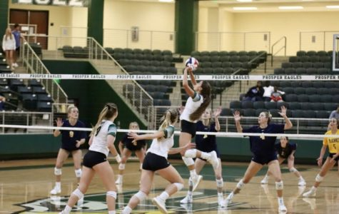 Prosper prepares to make an attack on the McKinney defense. They defeated the Lions Oct. 2. They'll play Plano Nov. 6 at McKinney High for the regional quarterfinal title on Tuesday, Nov. 6, at 7 p.m.
