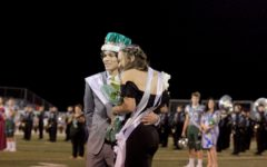 Homecoming King, Queen accept crowns