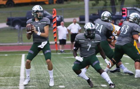 Football continues winning season</br> with 35-7 homecoming win over McKinney