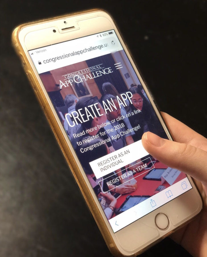 Students interested in coding can join the Congressional App Challenge. It is an opportunity for teens to learn coding and create their own app. Those interested can enter alone, or as a team.