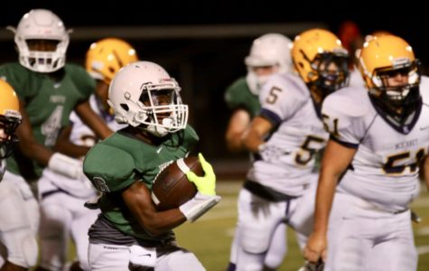 Freshman Green football team</br>continues undefeated season</br> with win over McKinney 38-0