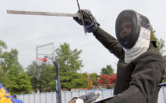 Senior sword fighter </br>draws new interest </br>to sport of past