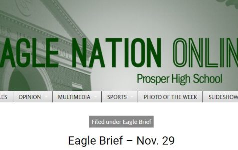 Eagle Brief – Nov. 29