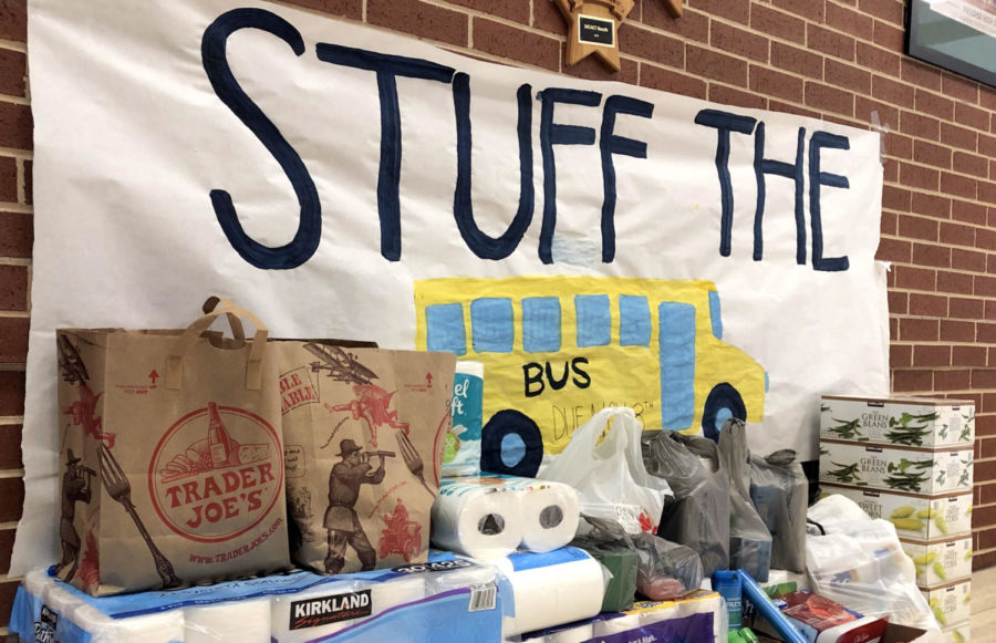 The+%22Stuff+the+Bus%22+effort+begins+Nov.+5+and+ends+Nov.+8.+Students+can+bring+nonperishable+goods+to+aid+those+in+need.+%22People+should+donate+because+they+want+to+help+out+and+impact+their+community+in+a+positive+way%2C%22+student+council+leader+and+coach+Tony+Cooper+said.+%22This+is+an+opportunity+to+create+positive+change.%22