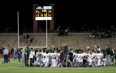 Varsity football reflects on their loss against Allen.  While they put up a fight, the boys lost 54-14. They will play Plano on the road this Friday, Nov. 9.