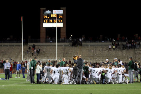 Varsity football reflects on loss against Allen Eagles