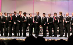 Choir sings at the 'Most Wonderful Time of the Year'
