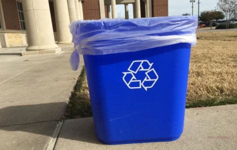 Students, teachers clean up school with new recycling program