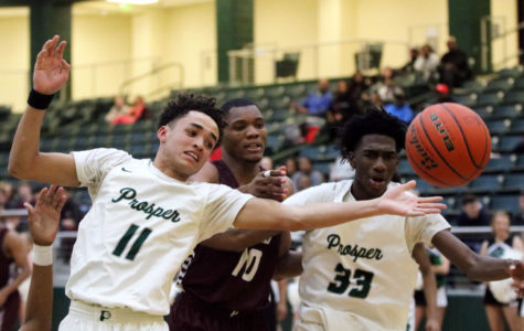 Davis and Chancey block Plano Senior High's win 57-53
