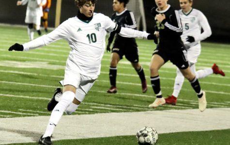 Varsity soccer wins in late comeback vs. Plano East, 3-2