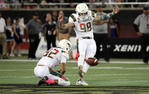 Senior kicker plays in Under Armour All-America game