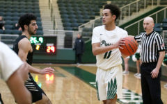 Basketball falls in first round of playoffs; finishes valuable first season in 6A