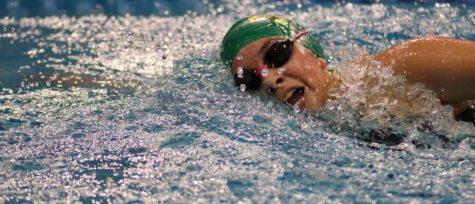 Senior swim team captain streamlines her way to college