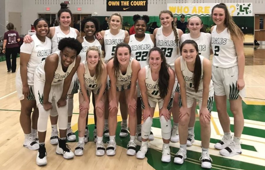 Girls+basketball+advances+in+playoffs+after+a+win+over+Plano%2C+55-51.+The+Eagles+advanced+to+the+sweet+16+with+the+win.+Prosper+would+go+on+to+advance+to+the+regional+finals%2C+but+fall+short+to+Allen.+