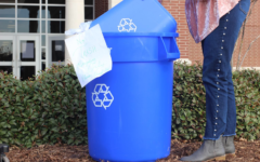 Recycling program organizers ask students to avoid putting trash in recycling bins