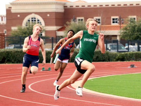 Prosper hosts track meet, athletes break records