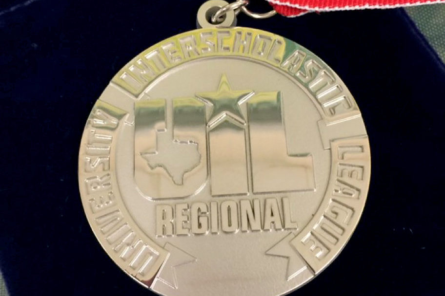 UIL Academics competed at the regional meet at Baylor University April 13. Four students will move on to the state meet. The state meet will be held in Austin, Texas May 2-4.