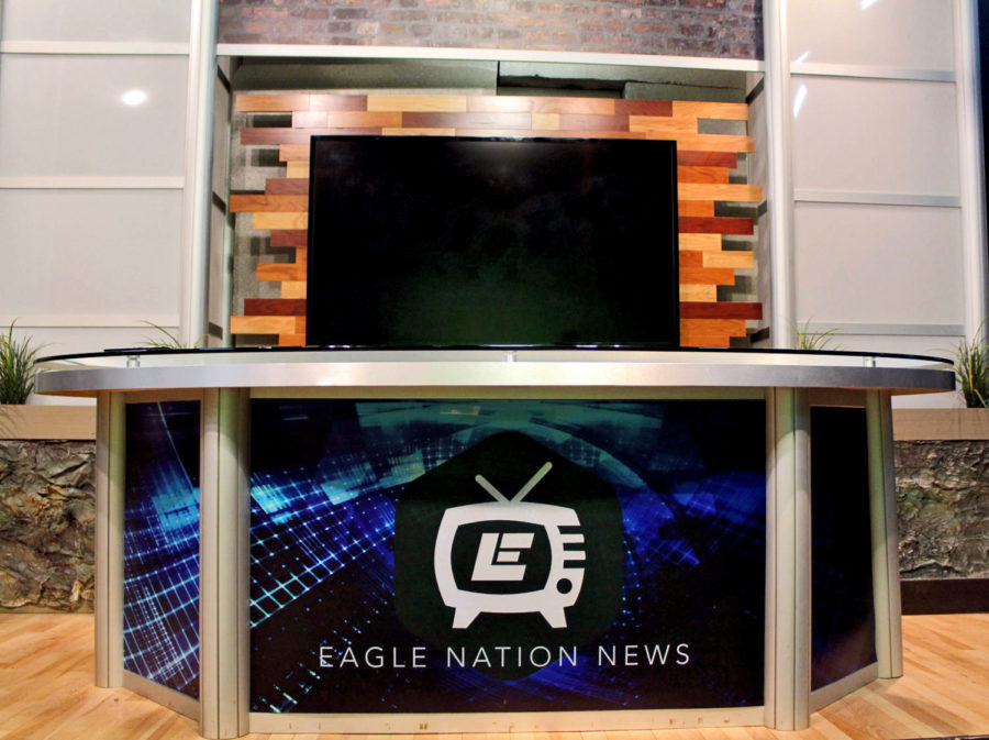 Eagle+Nation+News+is+the+broadcast+show+produced+by+student+journalists+and+advisor%2C+Michael+Hatch.+The+team+creates+a+daily+newscast+shown+live+to+the+students+of+Prosper+High+School+from+2%3A07+to+2%3A17.+They+have+won+multiple+national+awards%2C+including+The+Best+Of+Show+Award+for+two+consecutive+years.