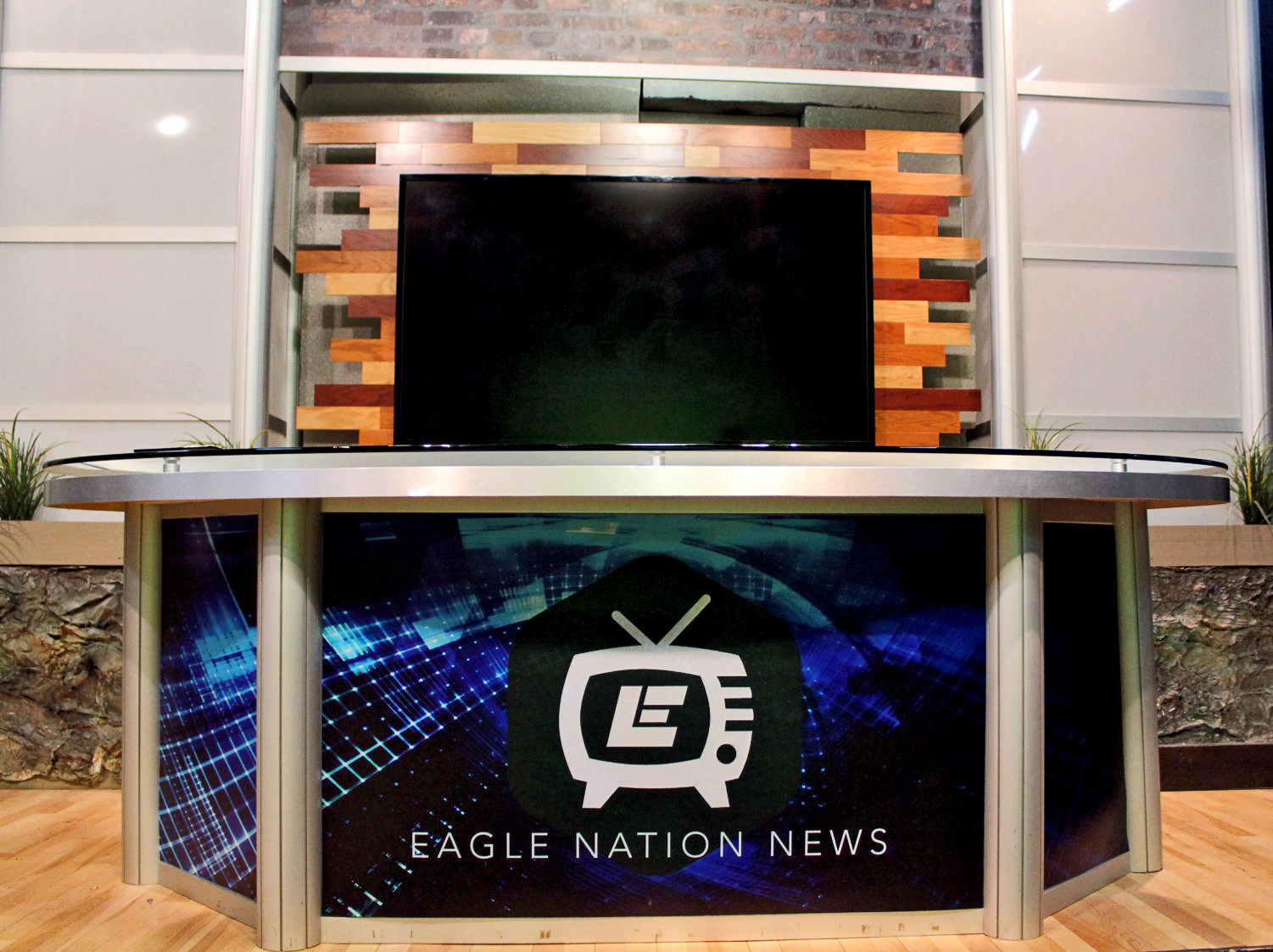 Eagle Nation News is the broadcast show produced by student journalists and advisor, Michael Hatch. The team creates a daily newscast shown live to the students of Prosper High School from 2:07 to 2:17. They have won multiple national awards, including The Best Of Show Award for two consecutive years.