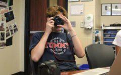 Students learn camera basics