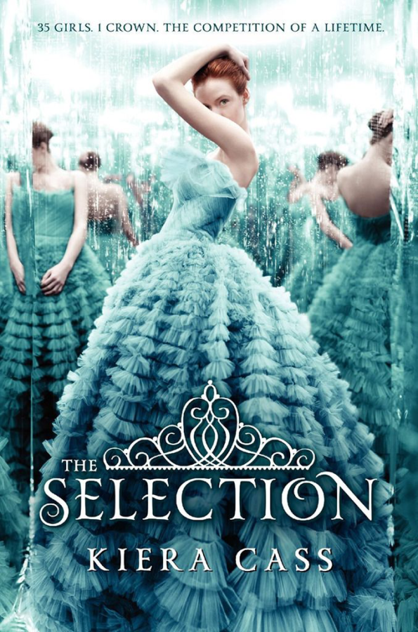 The+Selection+by+Kiera+Cass+covers+action%2C+suspense%2C+comedy+and+romance.+The+series+can+be+found+in+the+library+ready+for+check+out.+%22I+love+the+slow+build+up+of+romance+in+this+book%2C%22+writer+Lexi+Goodrum+said.+