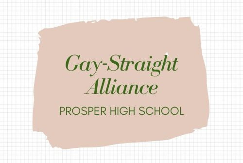 The Gay-Straight Alliance club hosts Ally Week Sept. 23-27. They will hold an Eagle Time meeting Wednesday, Sept. 25, to introduce the club to those interested in joining.