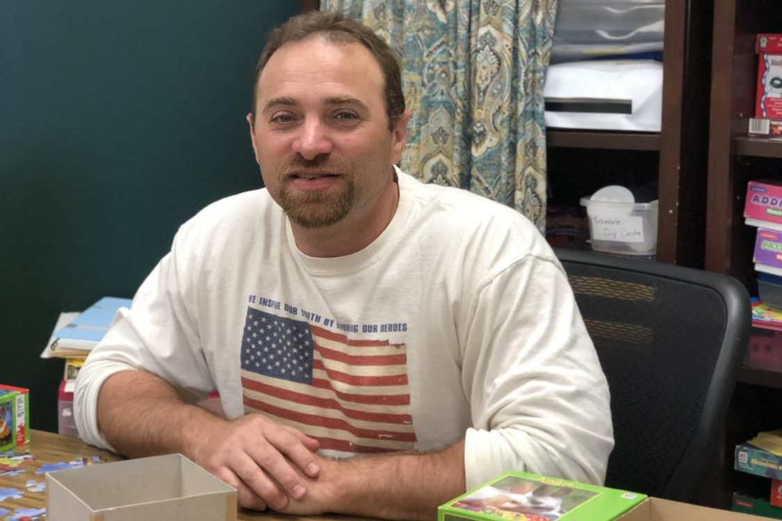 Craig Lencer joins staff to teach Life Skills this year.