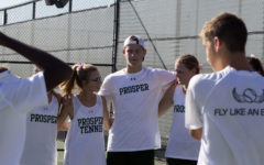 Tennis team heads into district, looks to play Plano