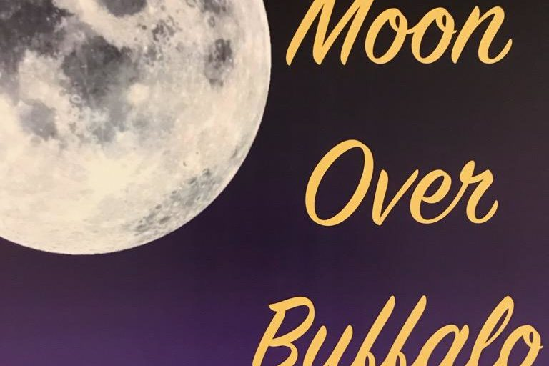 """Freshman Cooper Smith debuted as the leading male role, grouchy former Broadway actor George Hay. """"Moon Over Buffalo,"""