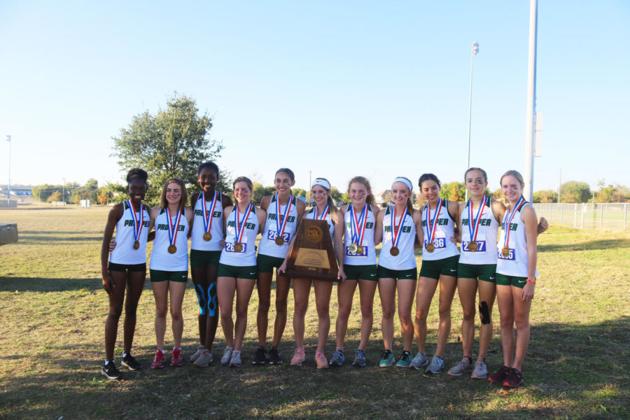 Girls cross country places third overall at state meet