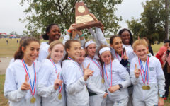Girls cross country dominates regionals, makes run for state