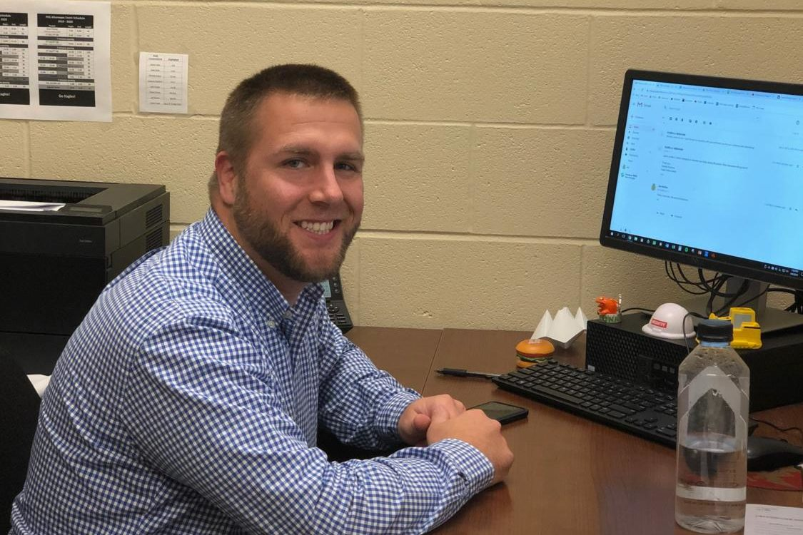 Joseph Molina joins the school to teach agricultural science this year.