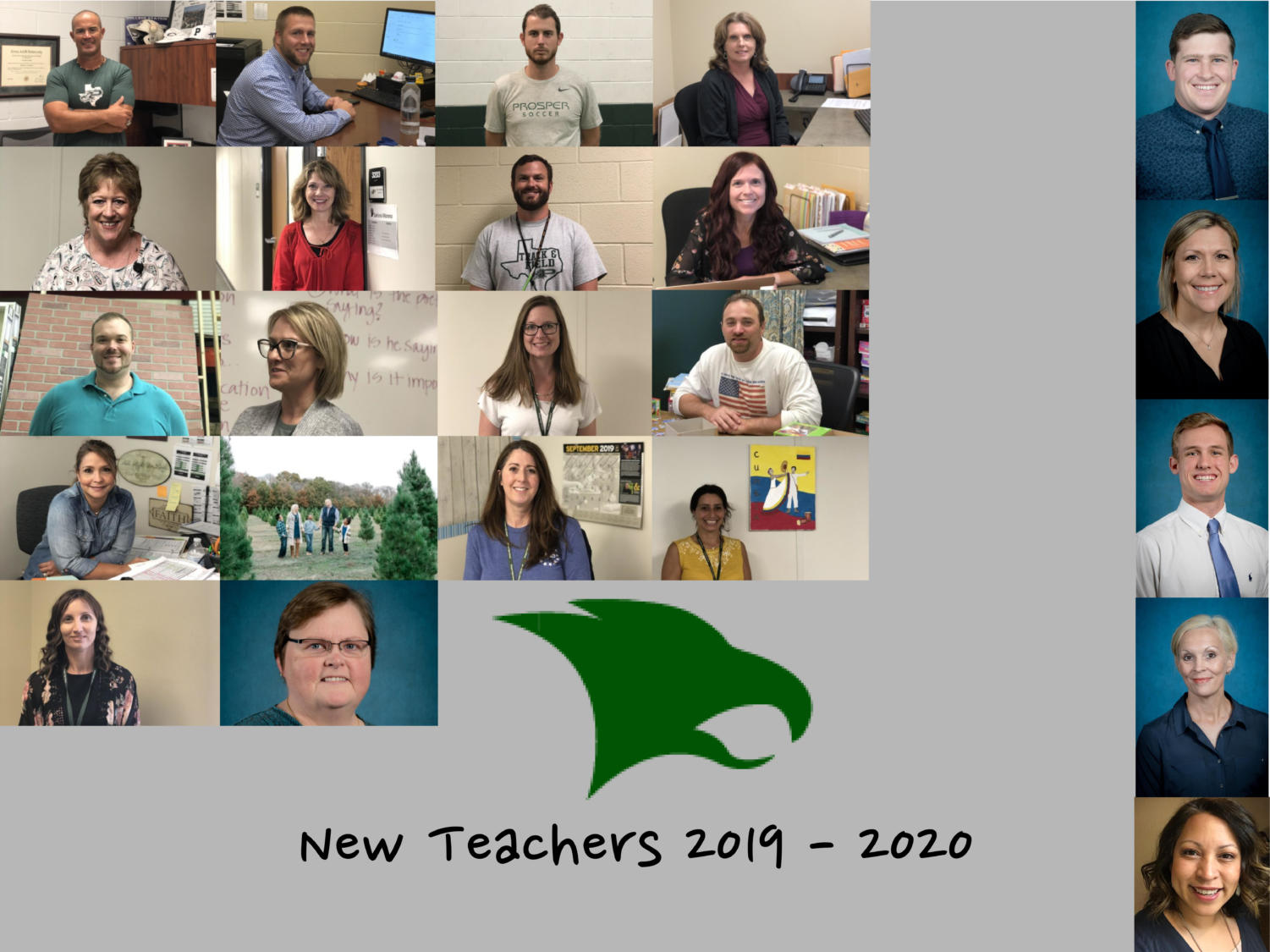 Prosper High School hired 46 new teachers this year. Eagle Nation Online will be covering as many as possible.