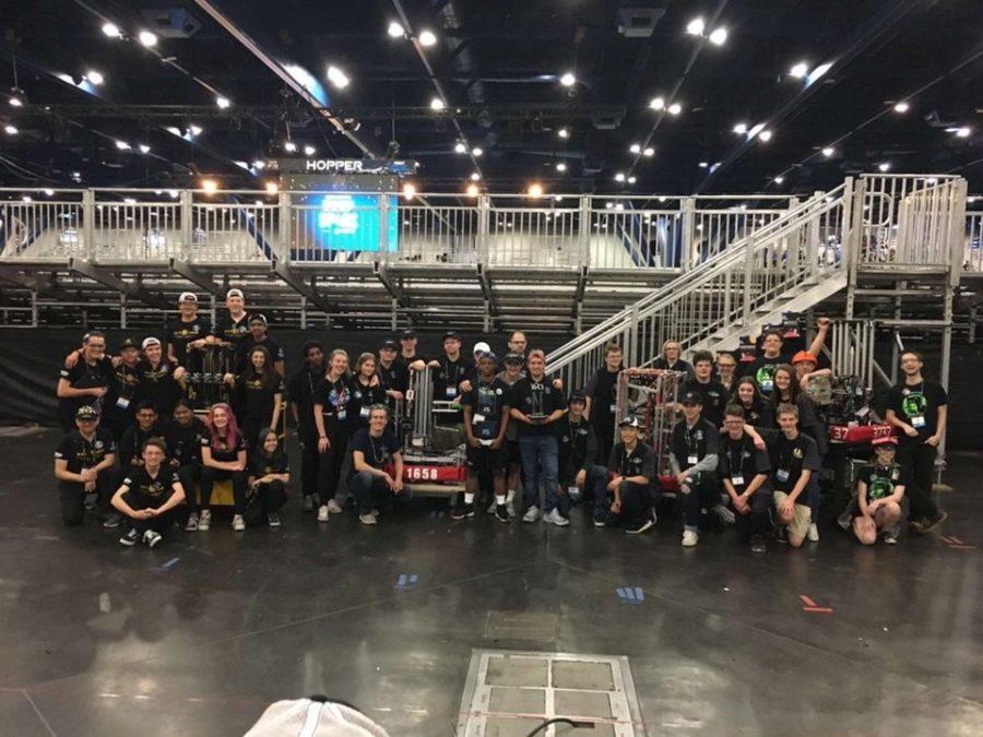 Robotics team competes, places in offseason tournaments