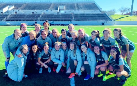 Prosper girls soccer won their game against Keller on Jan. 18. They won with a score of 4-0. They will play McKinney next for their district opener.