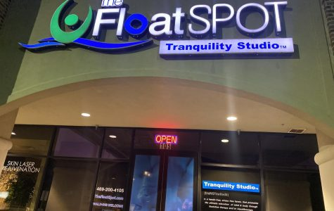 The Float Spot, located in Frisco on Legacy Drive, offers sensory deprivation tank sessions and aqua-massages. More information about the services and booking can be found on their website www.thefloatspot.com.
